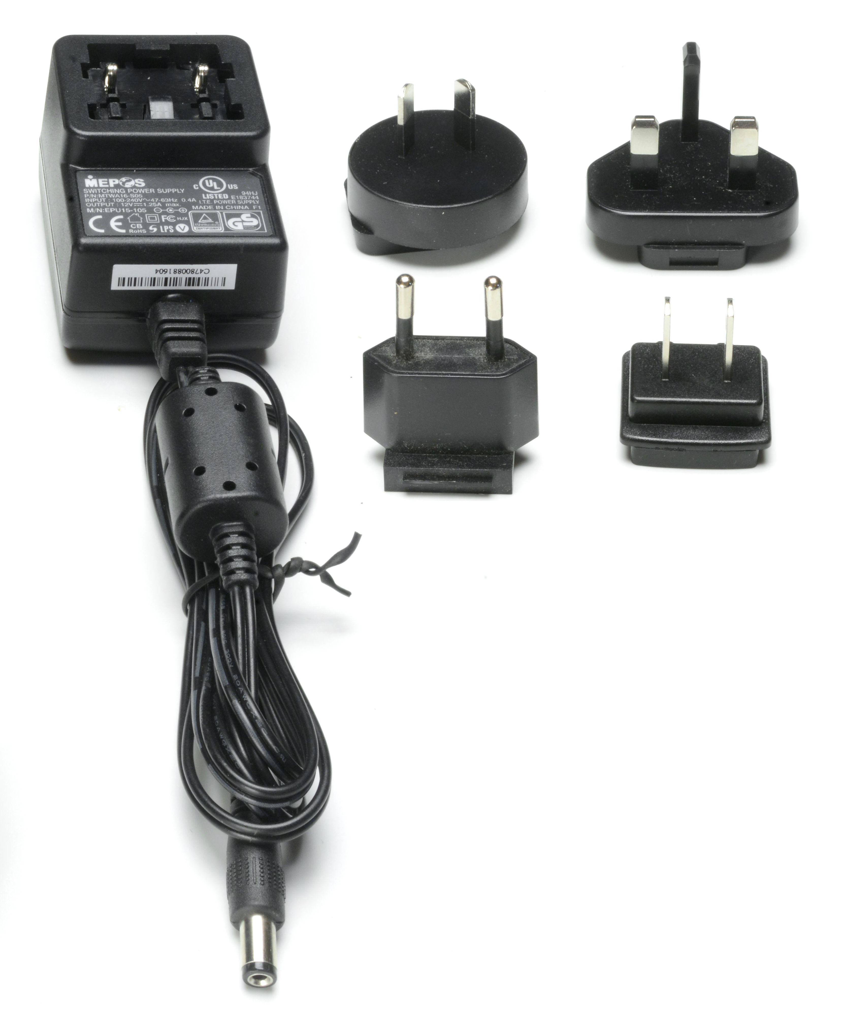5627 - Multiverse SHoW Baby 12VDC Power Supply with plug kit