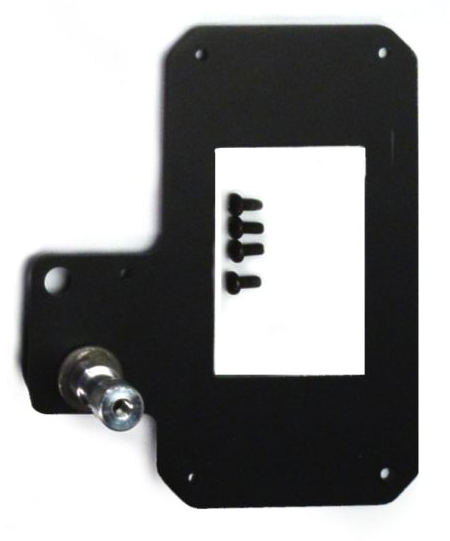 5974 - Multiverse Transmitter Hanging Bracket with hardware flat