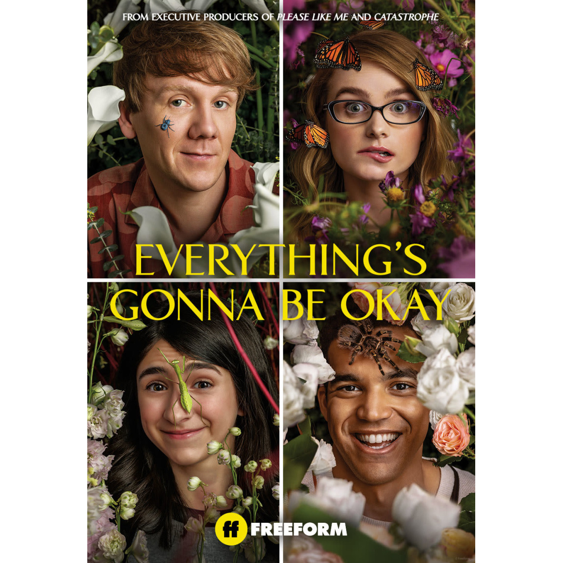 Everything's Gonna Be Okay on Freeform poster