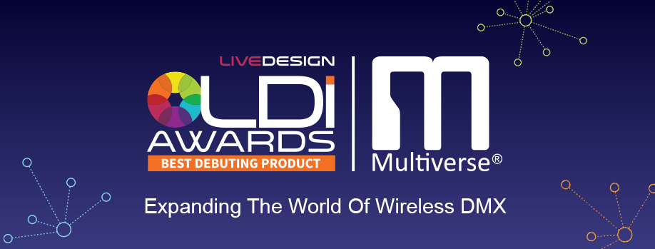 Award-Winning Multiverse Wireless DMX/RDM
