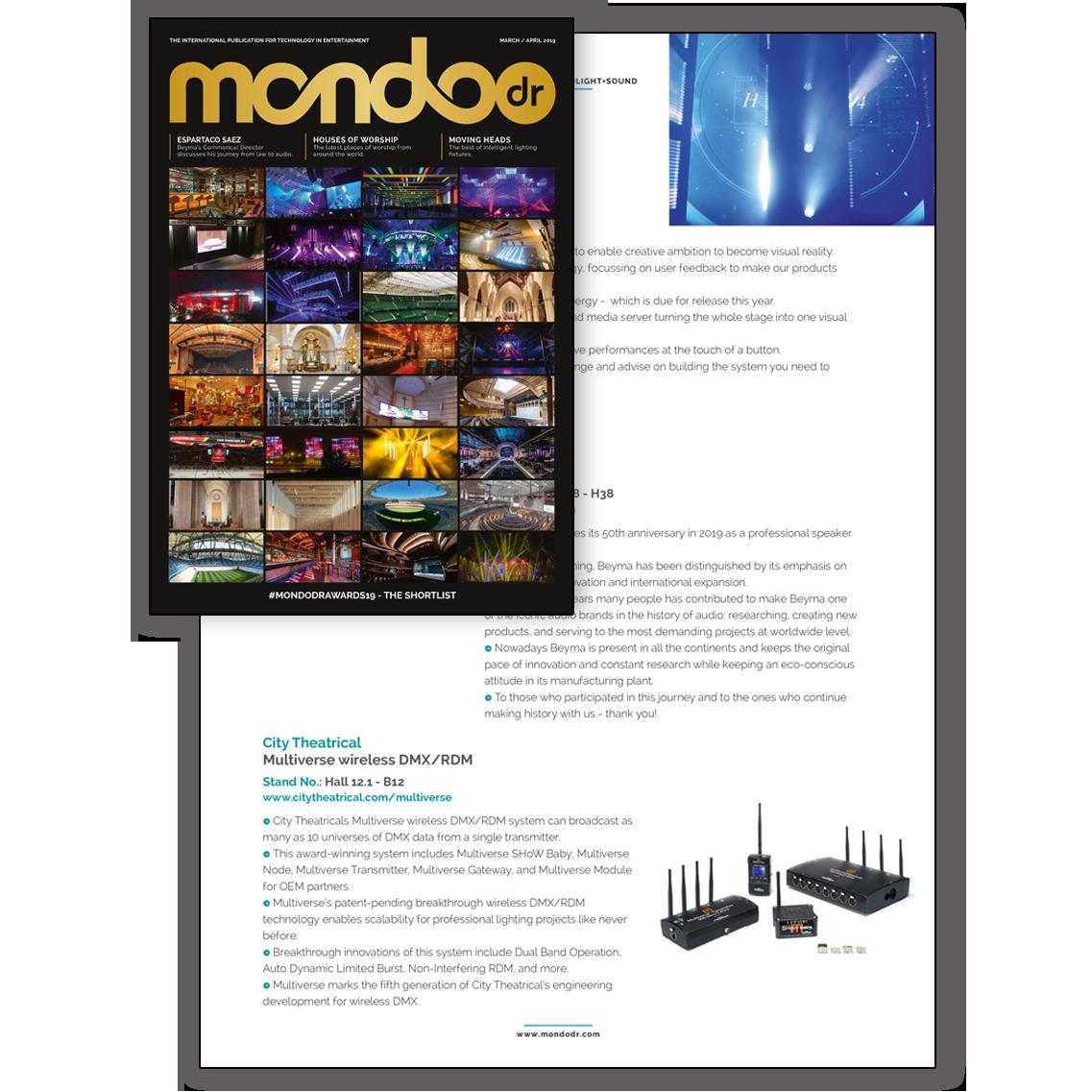 Multiverse in Mondo Magazine
