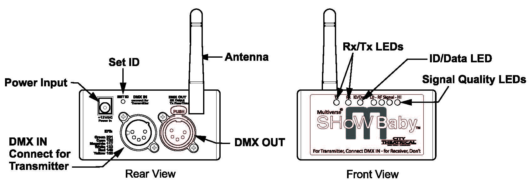 multiverse� show baby� on dmx connectors diagram, dmx wiring touch-and-