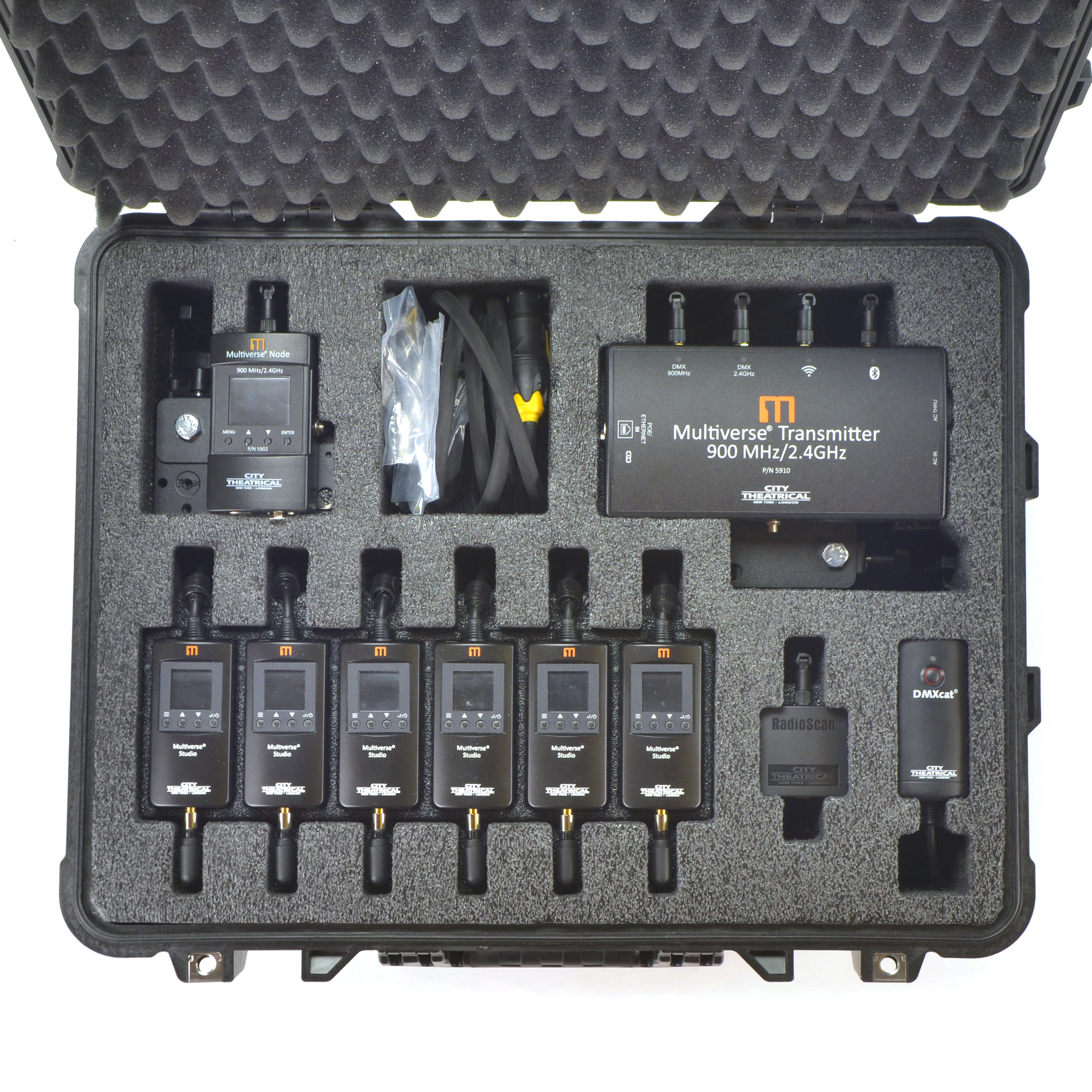 Multiverse Studio Kit loaded with 5910- square closeup