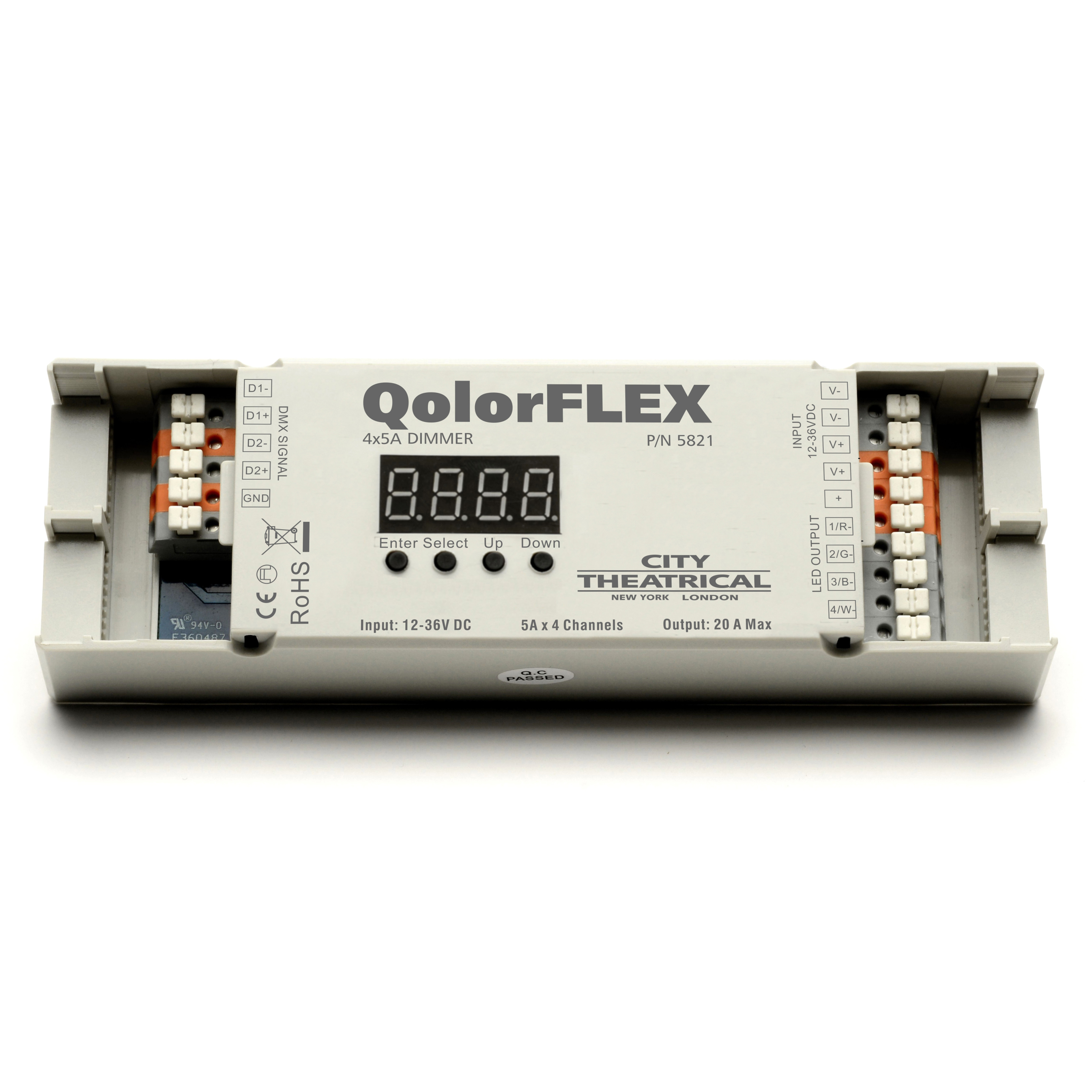 Qolorflex 4x5a Dimmer Instrument Cluster Wiring Diagram Click To Enlarge Image