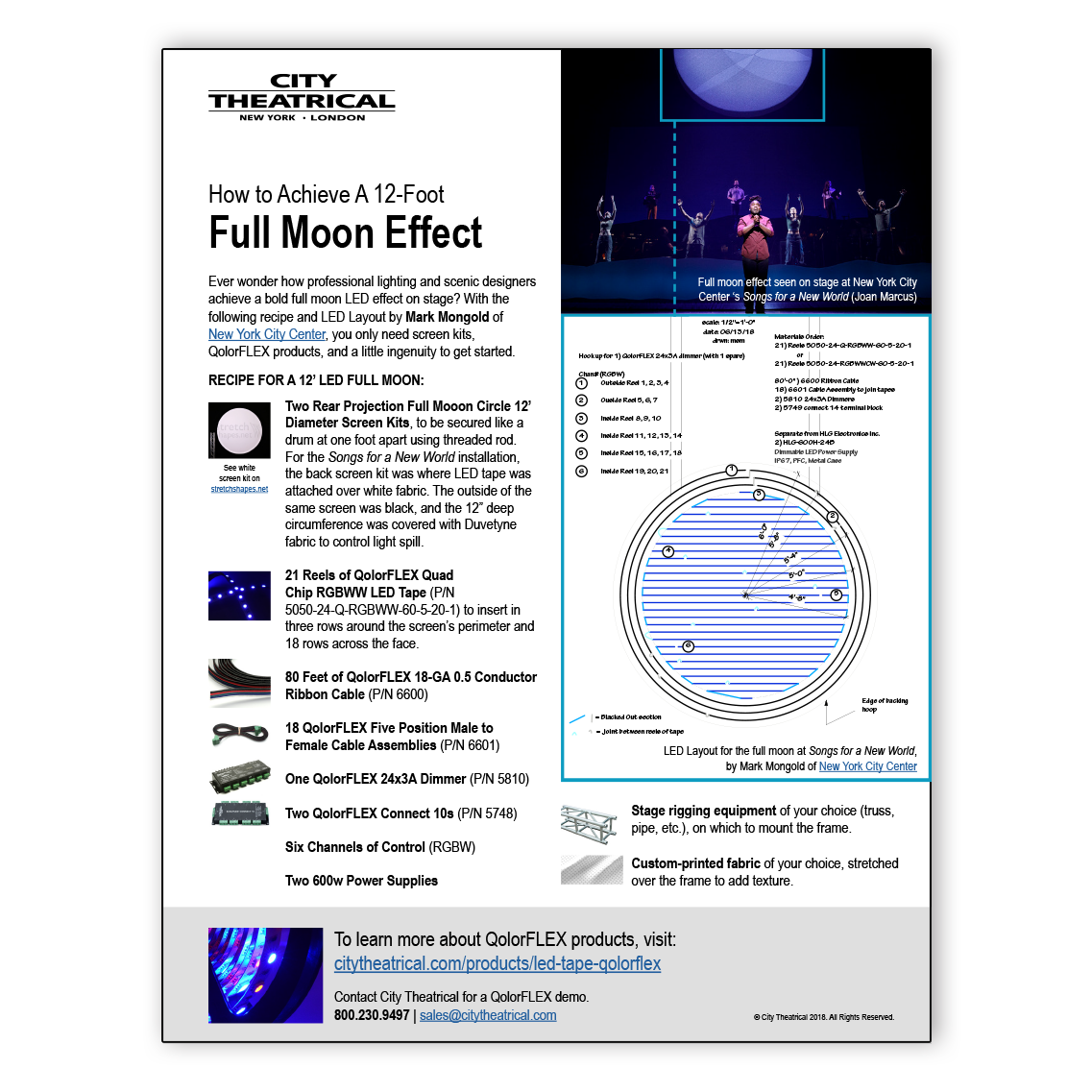 How to Create a Full Moon Effect