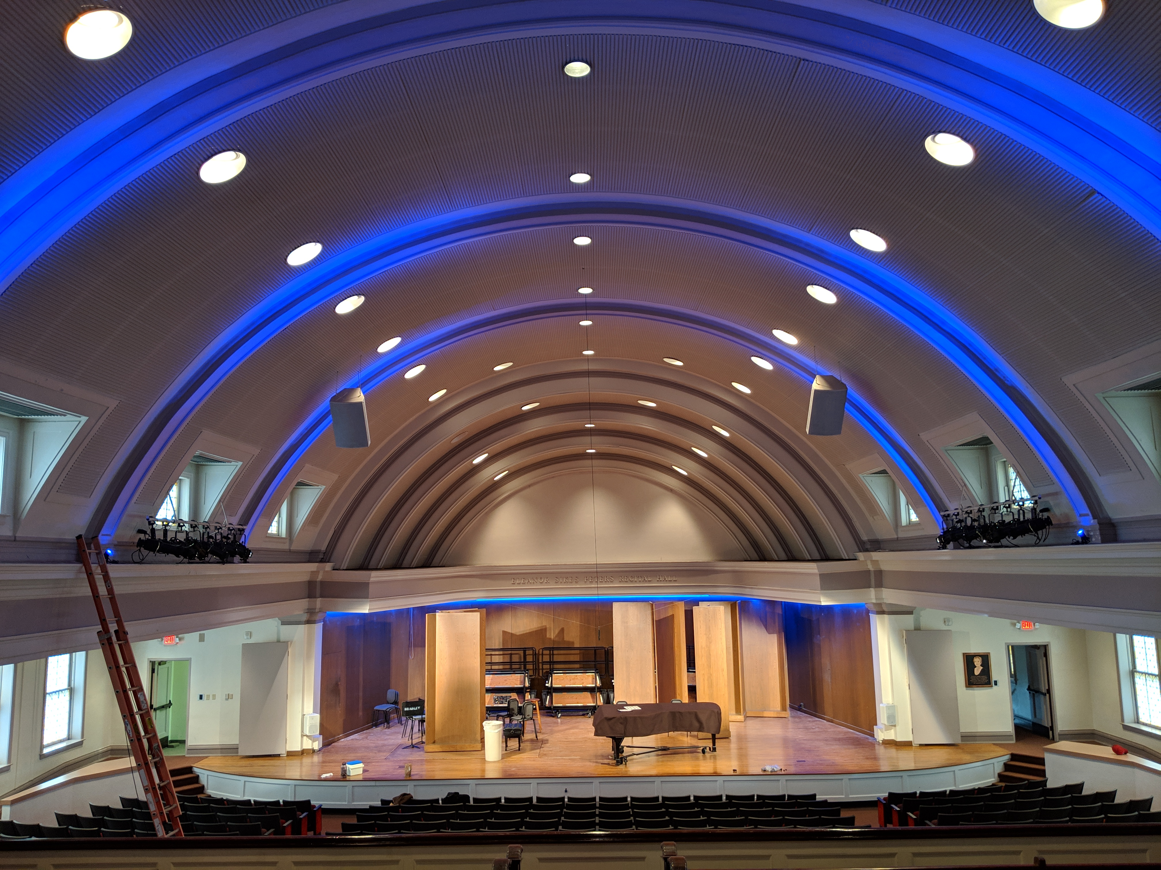 QolorFLEX 24x3A Dimmers at Bradley University's Dingledine Music Hall