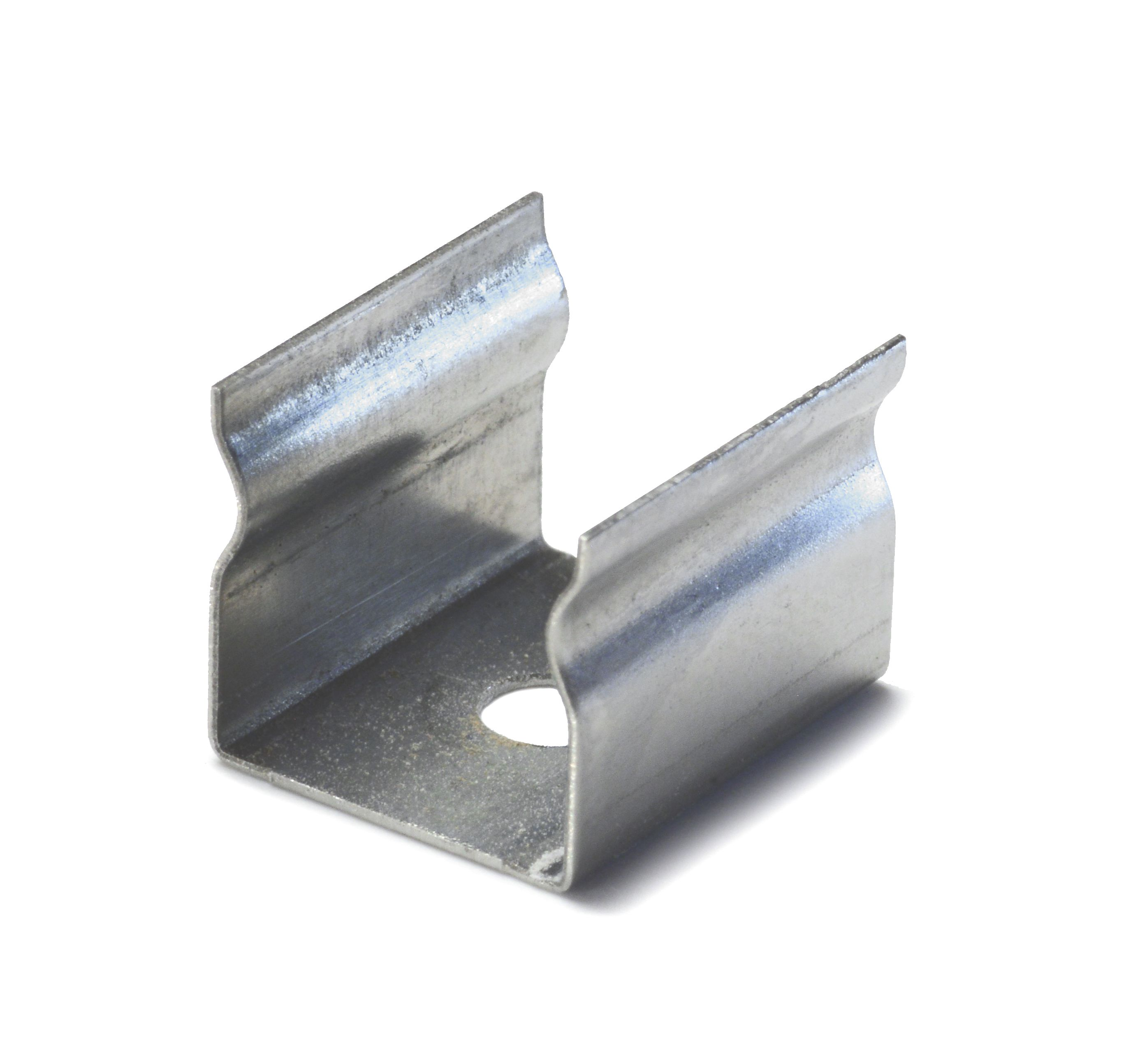 QolorFLEX NuNeon Aluminum Extrusion Mounting Clip, Pack of 10