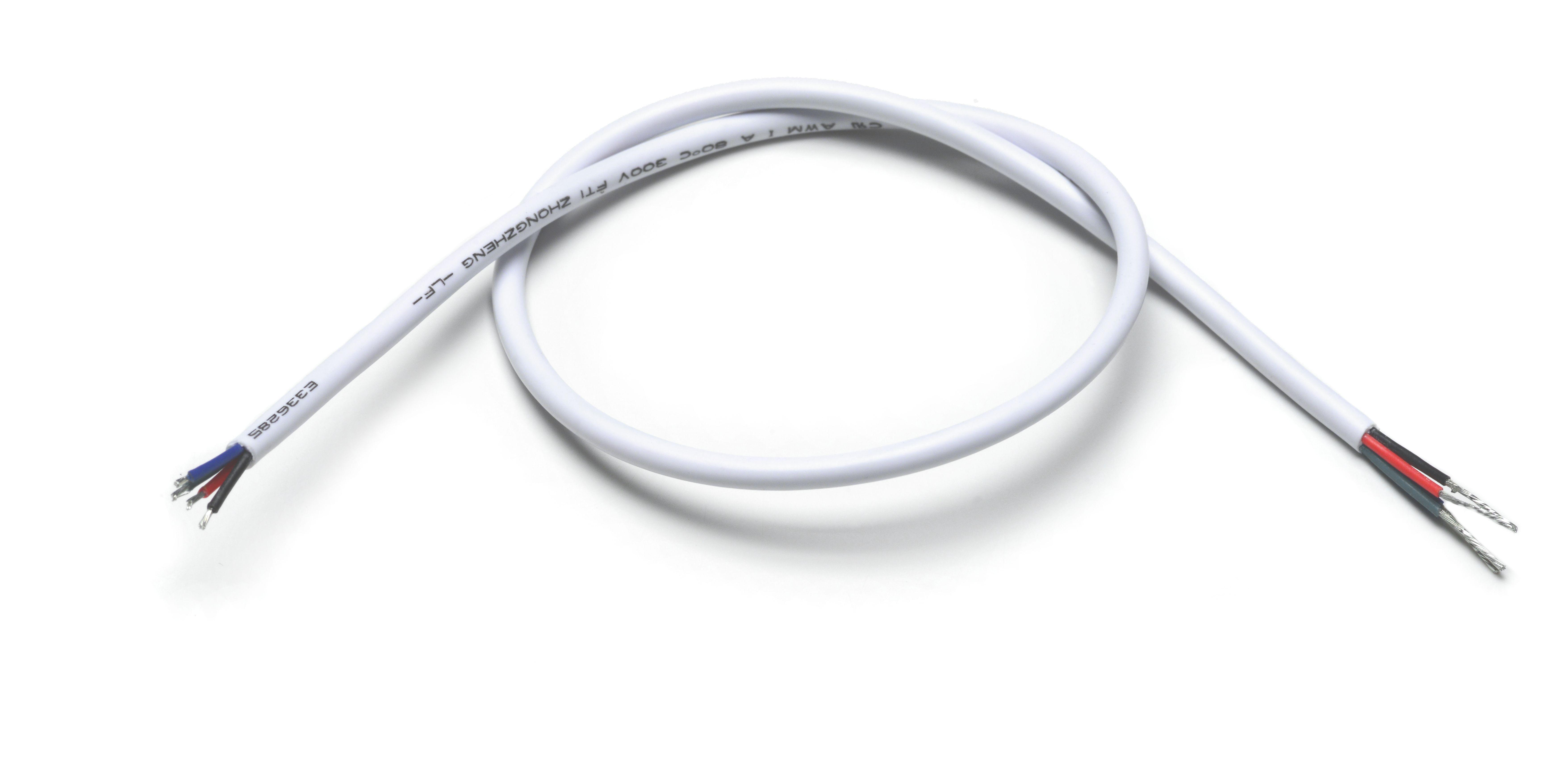 QolorFLEX NuNeon Lead Wire, Four Wire, 40cm