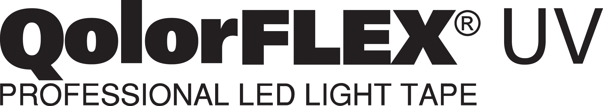 QolorFLEX UV LED Tape logo