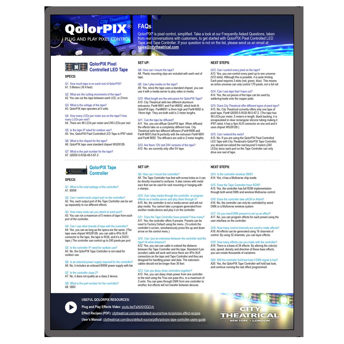 QolorPIX FAQs