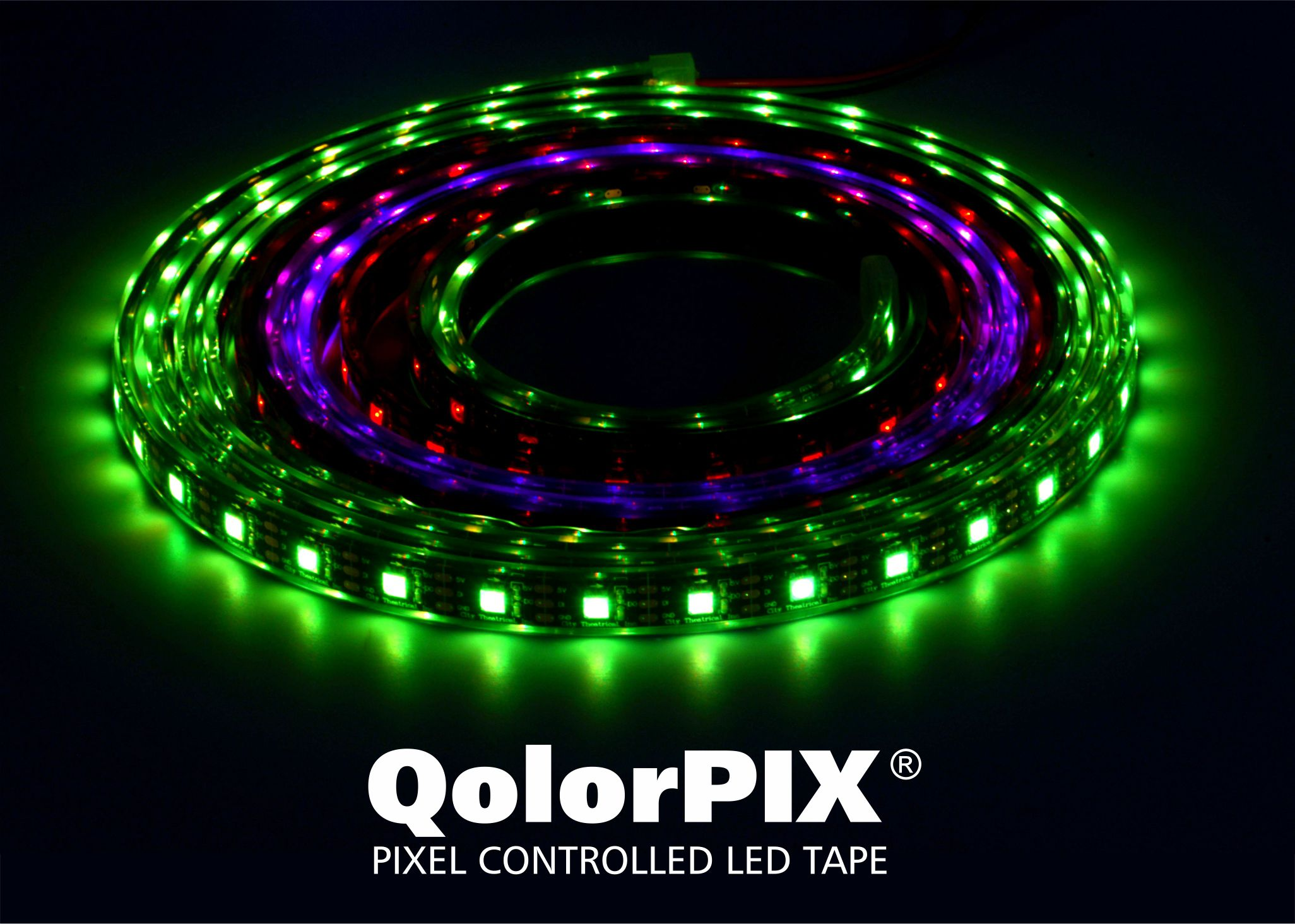 QolorPIX Pixel Controlled LED Tape