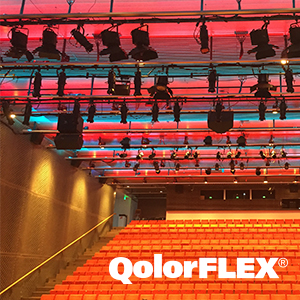 QolorFLEX LED Tape at the Institute of Contemporary Art Theatre