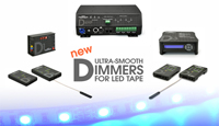 Ultra-Smooth Dimmers for LED Tape