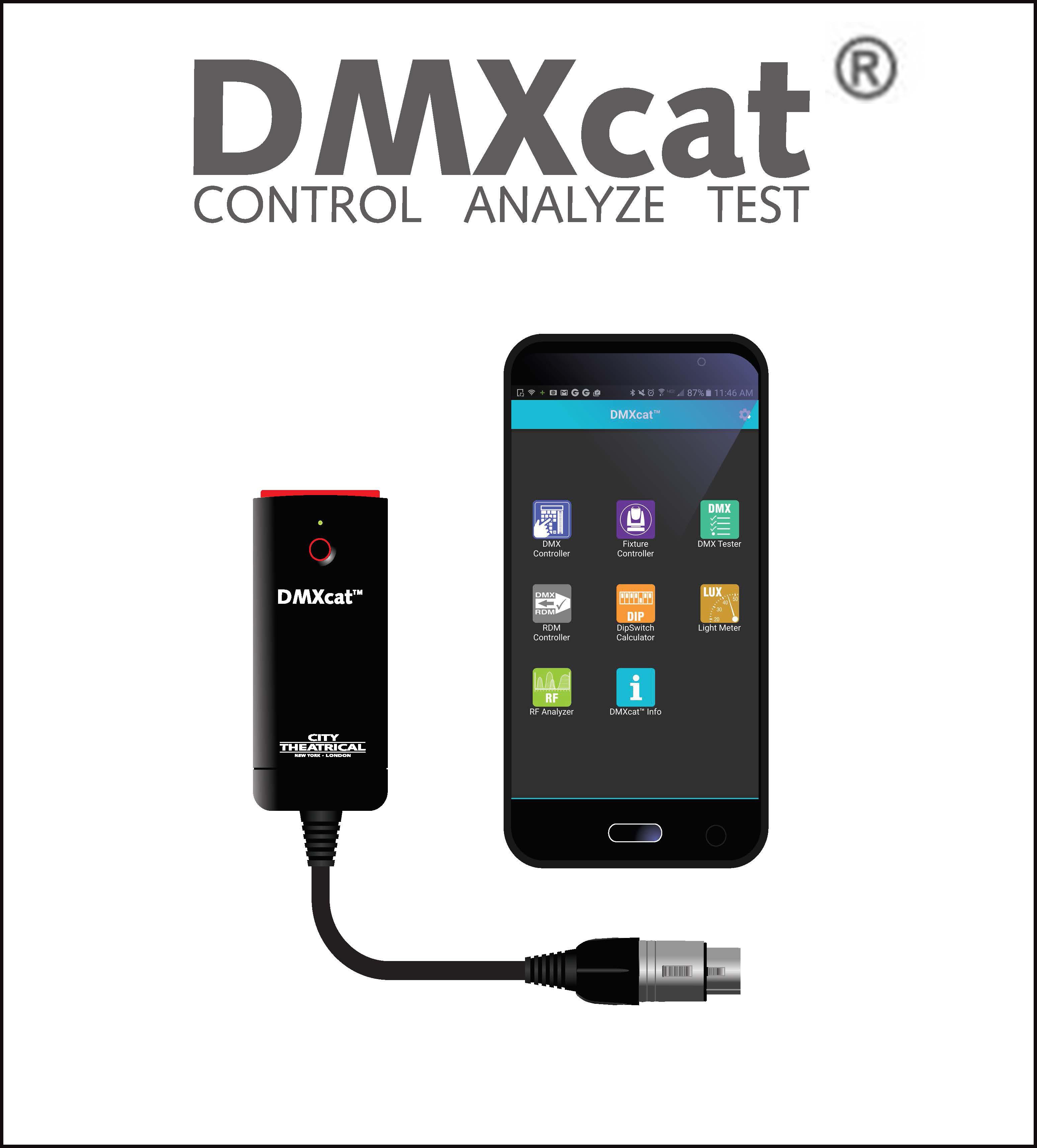 DMXcat® Multi Function Test Tool