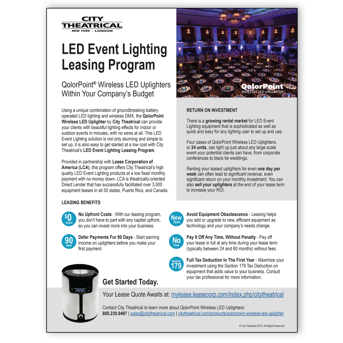 QolorPoint Leasing Program Info Sheet